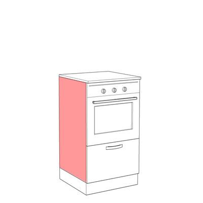 Scl060b semicolonna forno per cucina componibile - Forno per cucina componibile ...