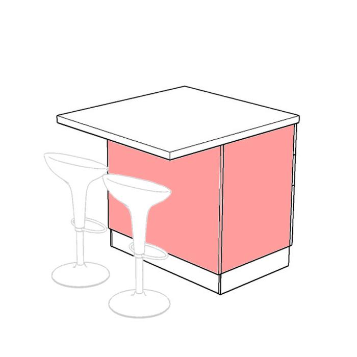 Cucina Rosso Mattone Sistema 901 : Isd b isola dispensa per cucina componibile arredaclick