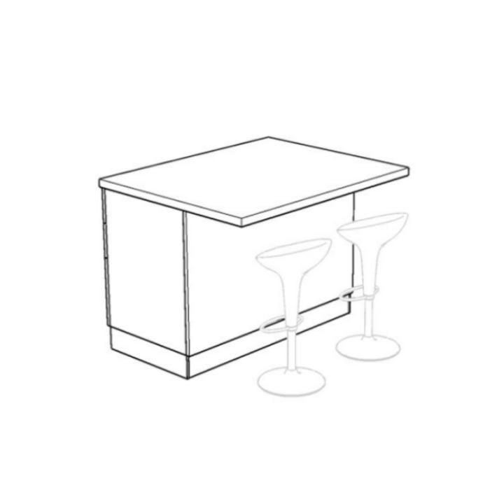 ISD120C - Isola Dispensa per cucina componibile - ARREDACLICK
