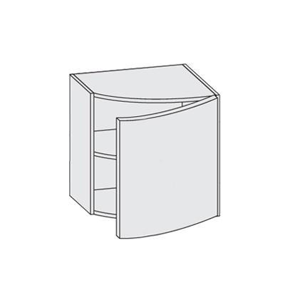 Placard de rangement avec porte courb e logic arredaclick for Porte logic and