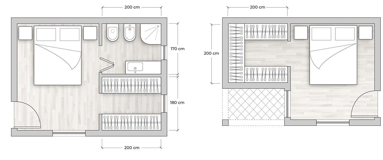 Cabina Armadio Ad Angolo Misure.Progettare Una Cabina Armadio It Guide Diotti Com