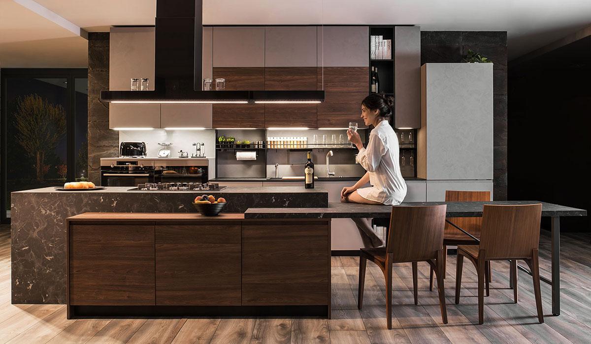Condivisione degli spazi in cucina