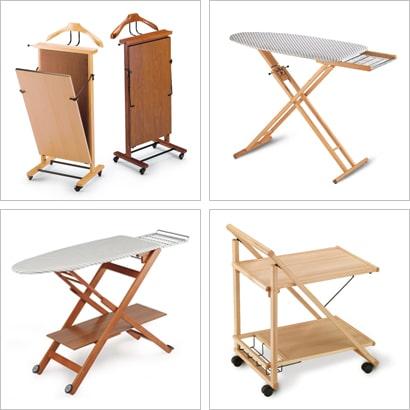 Accessori casalinghi in legno