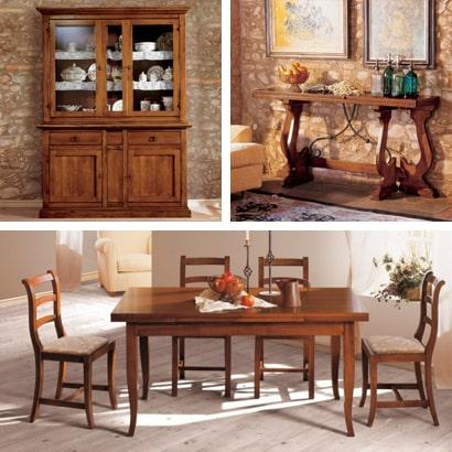 Arredamento classico in legno