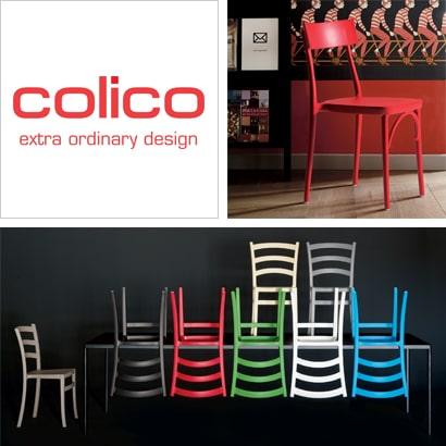 Colico: sedie, sgabelli, tavoli, arredi per il living