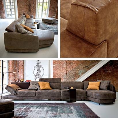 Produzione imbottiti e divani per salotto