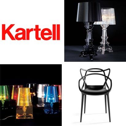 Kartell Designer Möbel und Accessoires