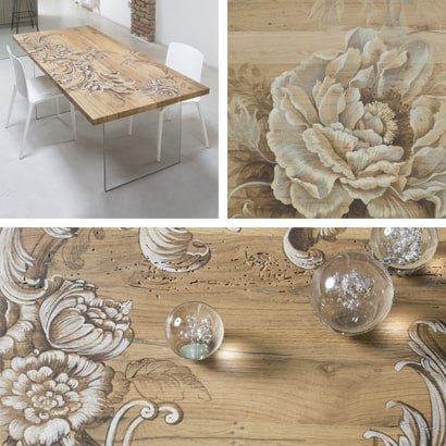 Mariani Affreschi: tableaux et tables artistiques