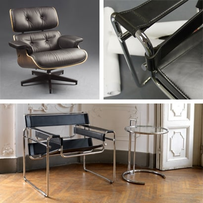 Tavoli, tavolini, poltroncine, sedie iconiche, classici design