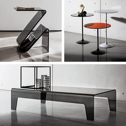 Sovet: complementi e mobili in vetro
