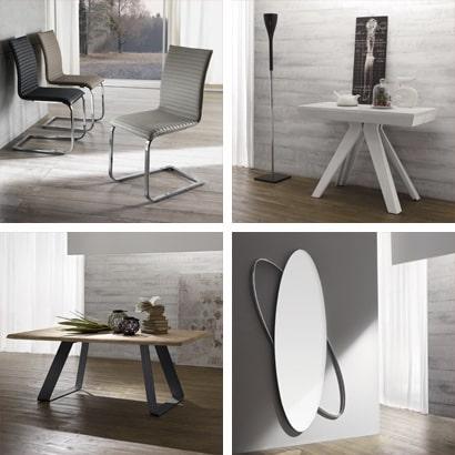 Tavoli da pranzo, tavoli da cucina, tavoli allungabili e sedie