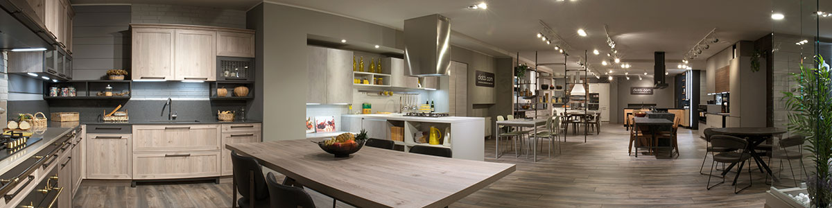 Panoramica Showroom Cucina