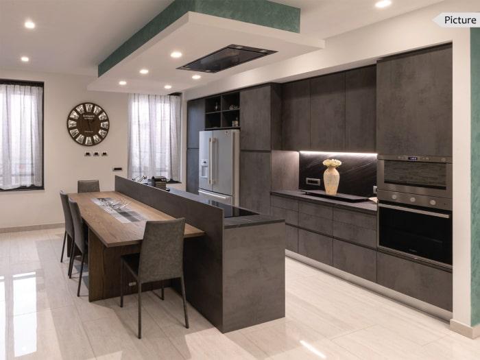 Progetto terminato: cucina installata e montata nell'abitazione