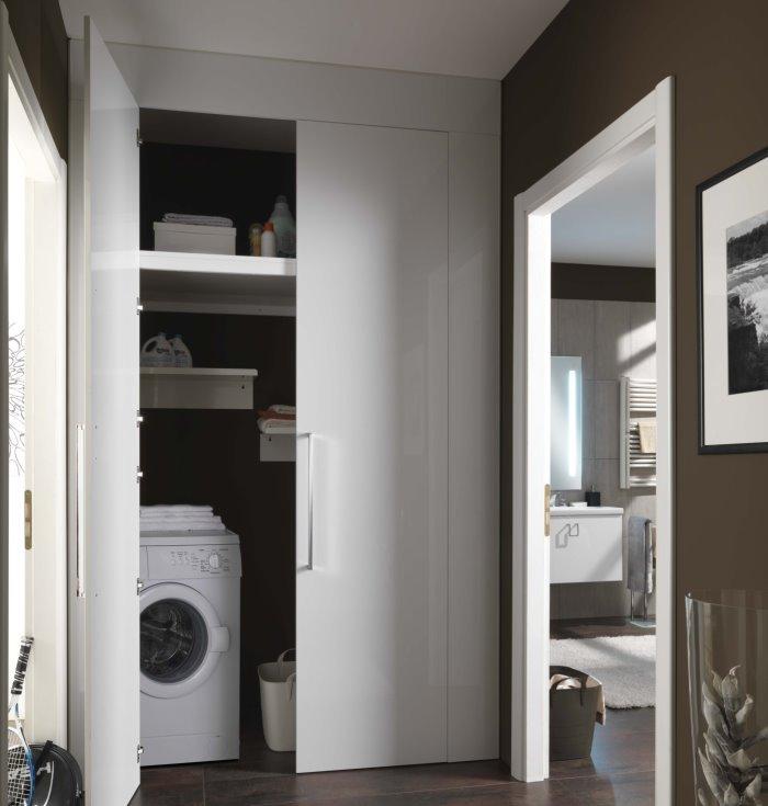 Idee armadio per lavanderia 5 soluzioni arredaclick for Armadio da soggiorno