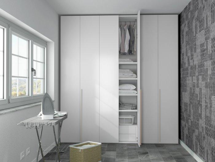 Armadio Lavanderia Stireria : Idee armadio per lavanderia soluzioni arredaclick