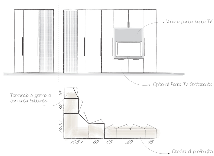 ... BLOG - 2 idee per arredare una camera lunga e stretta - ARREDACLICK