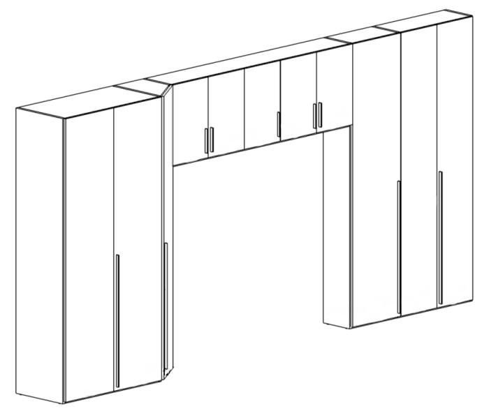 Idee il progetto di max armadio a ponte con cambio di - Ikea progetto camera ...