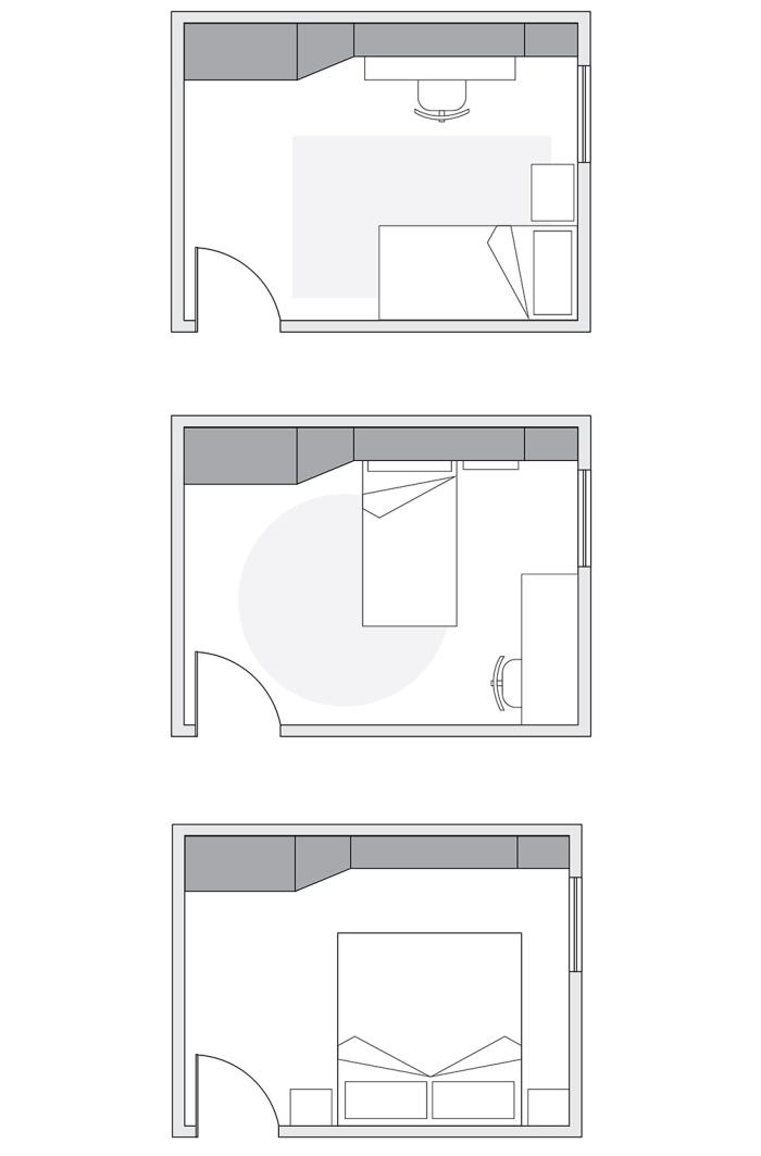 Idee il progetto di max armadio a ponte con cambio di for Progetto camera