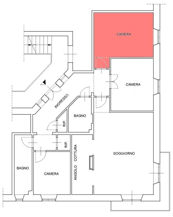 Idee 2 idee per arredare una camera lunga e stretta for Arredare cameretta stretta e lunga