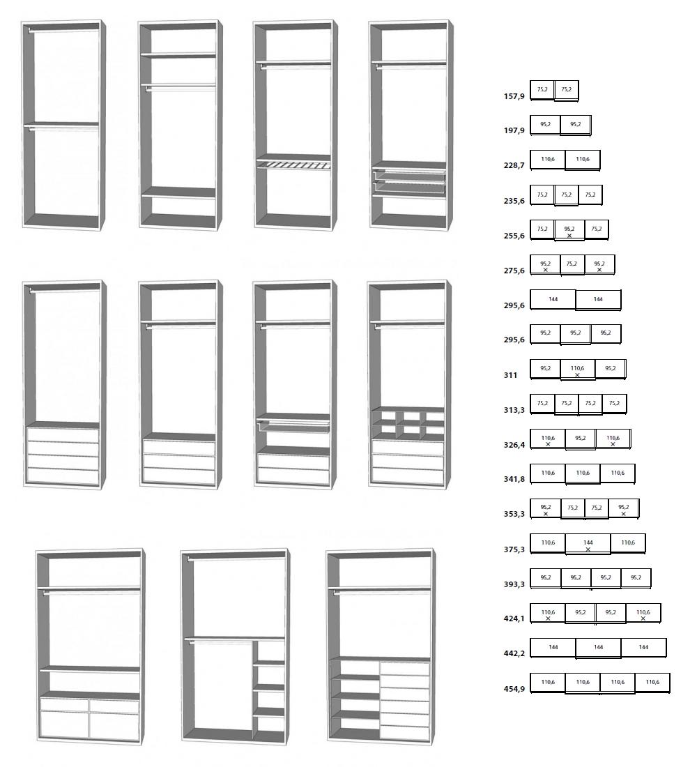 Idee un armadio su misura online risparmiare progettando in autonomia arredaclick - Moduli per cabina armadio ...