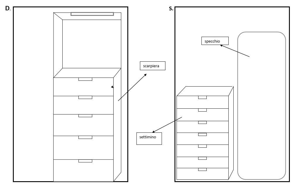 Cabina Armadio Autoportante Player : Idee il progetto di flavia una cabina armadio a vista