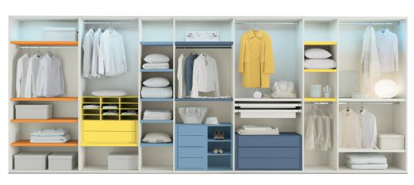 Idee come scegliere la cabina armadio arredaclick - Attrezzature per cabine armadio ...