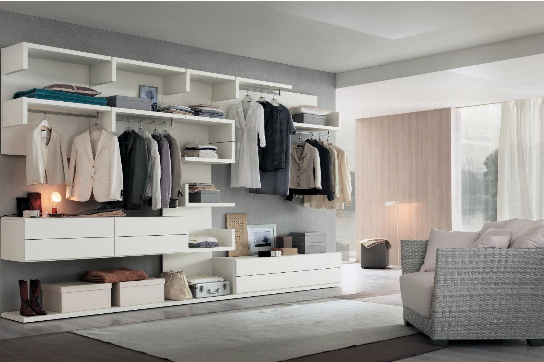 Idee il progetto di sara una cabina armadio in lavanderia arredaclick - Moduli per cabina armadio ...