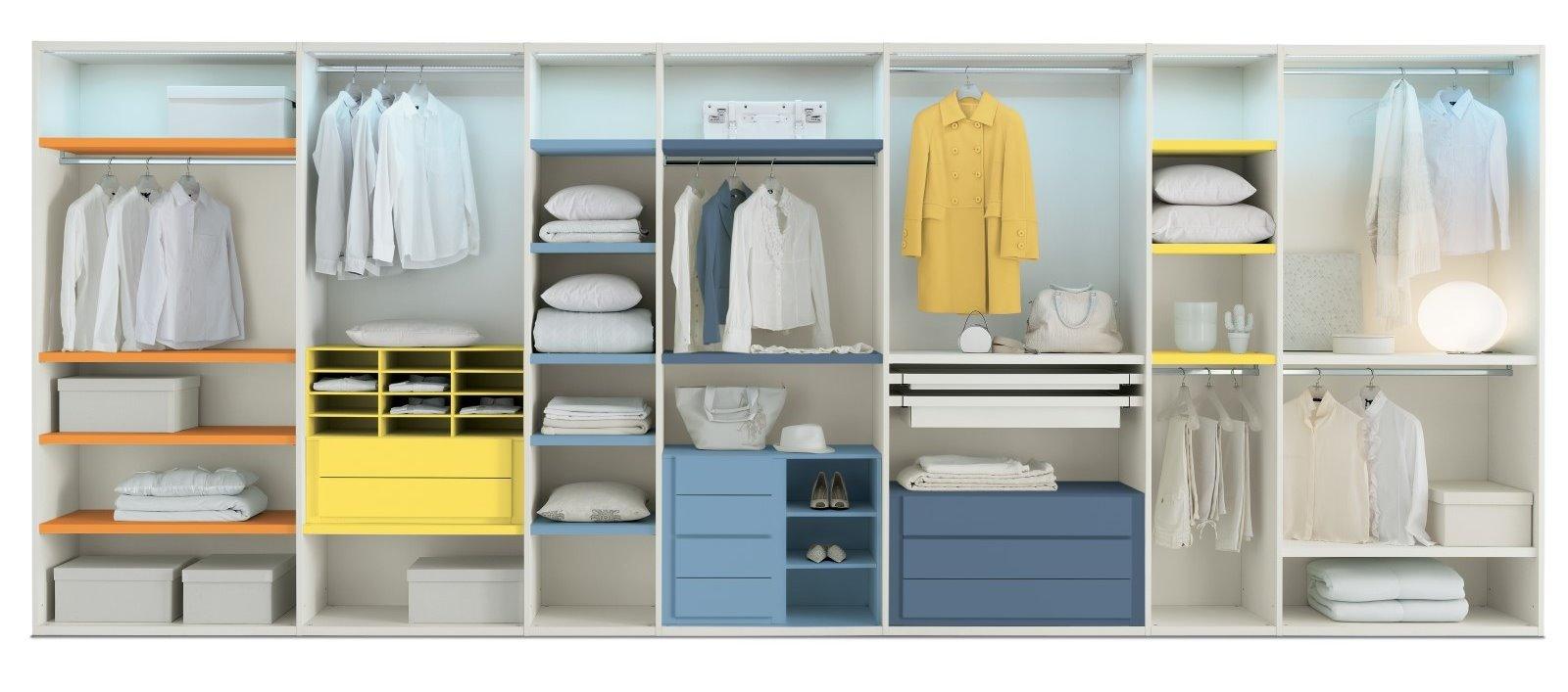 Idee il progetto di flavia una cabina armadio a vista - Cabina armadio su misura ...