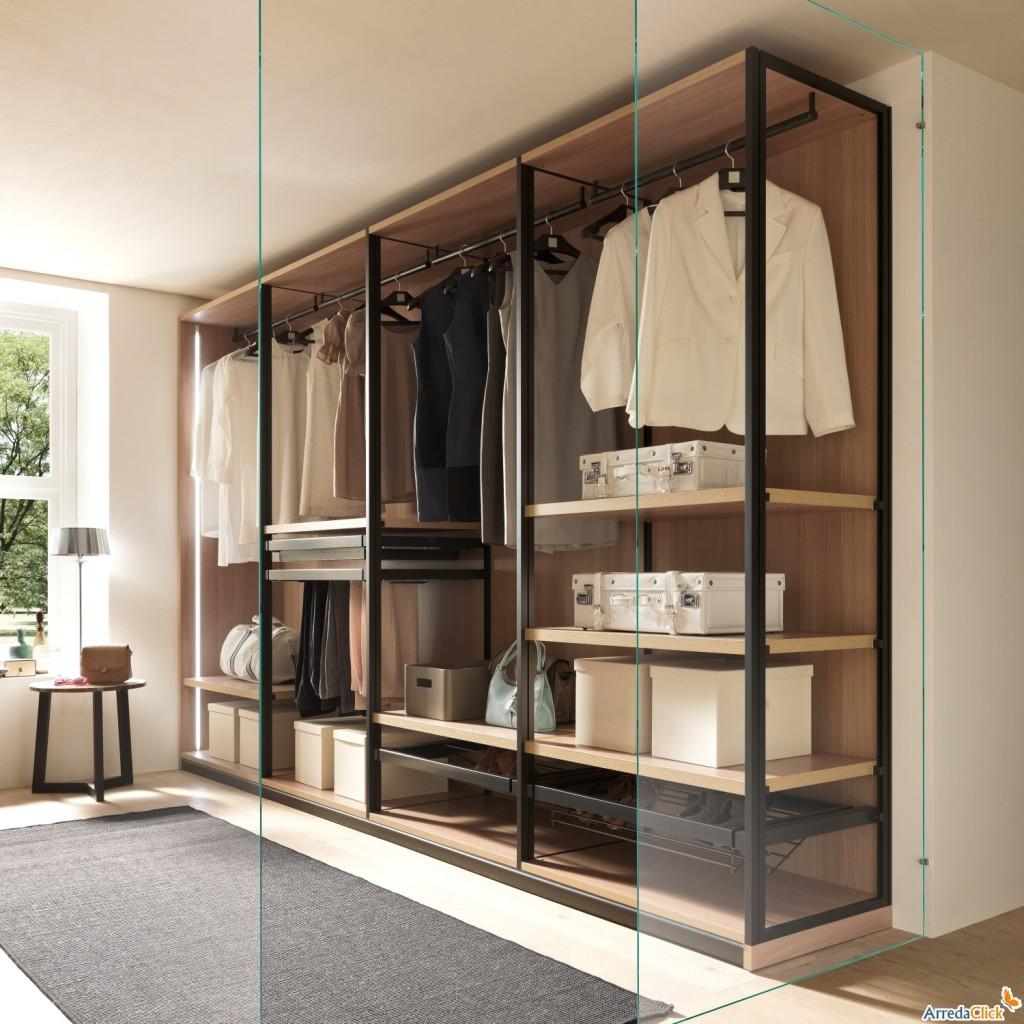 Idee come scegliere la cabina armadio arredaclick - Ante cabina armadio ...
