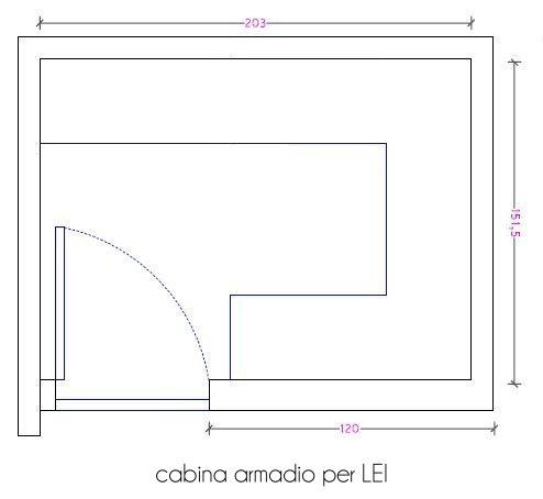 Dimensioni Cabina Armadio Ad Angolo.Dimensione Minima Cabina Armadio Elegant Disabili Is Free Hd