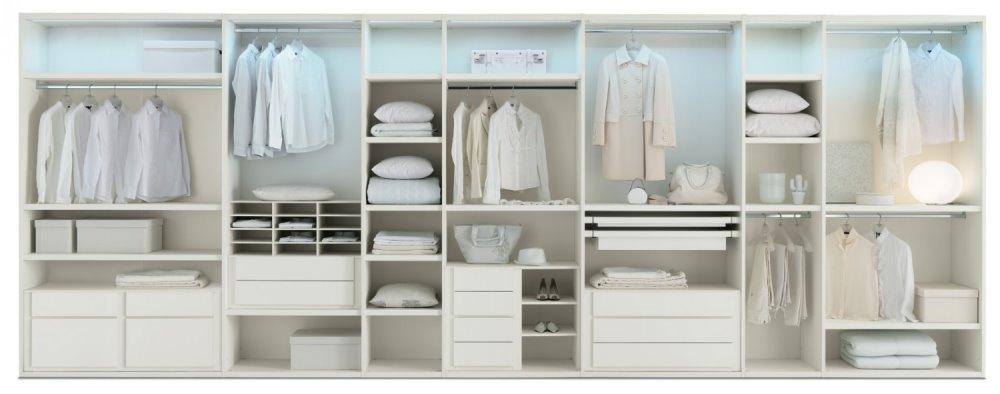 Idee come organizzare la cabina armadio arredaclick - Ikea accessori interni per armadi ...