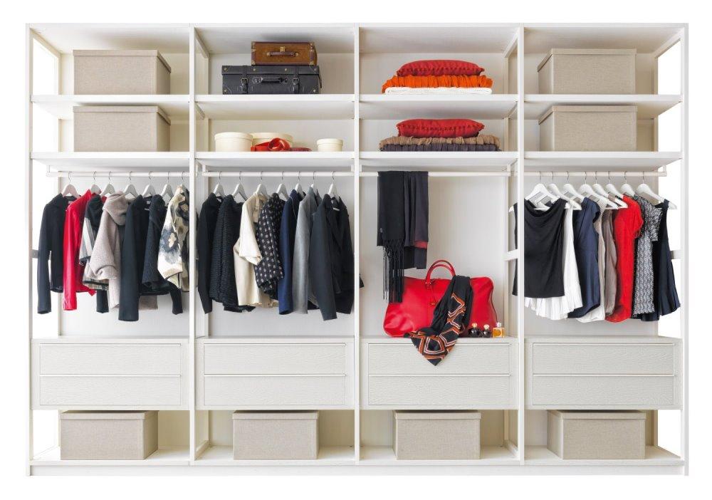 Idee come organizzare la cabina armadio arredaclick for Piccoli piani di casa cabina di log
