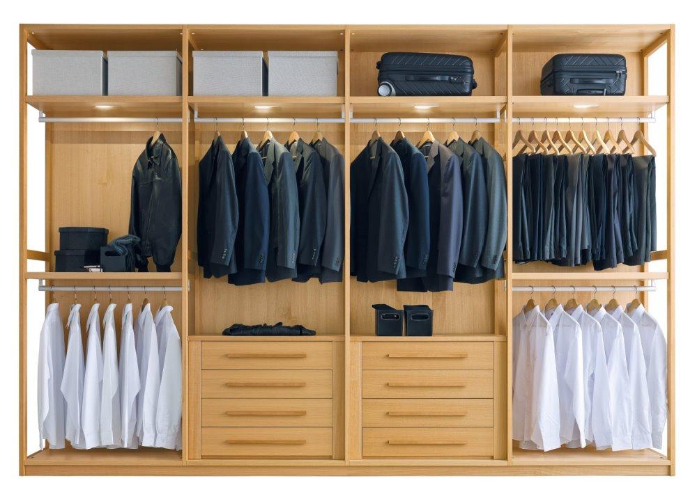Cabina Armadio Grandezza : Idee come organizzare la cabina armadio arredaclick