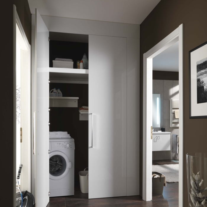 Idee la lavatrice in bagno 3 soluzioni definitive 1 arredaclick - Lavatrice in bagno soluzioni ...