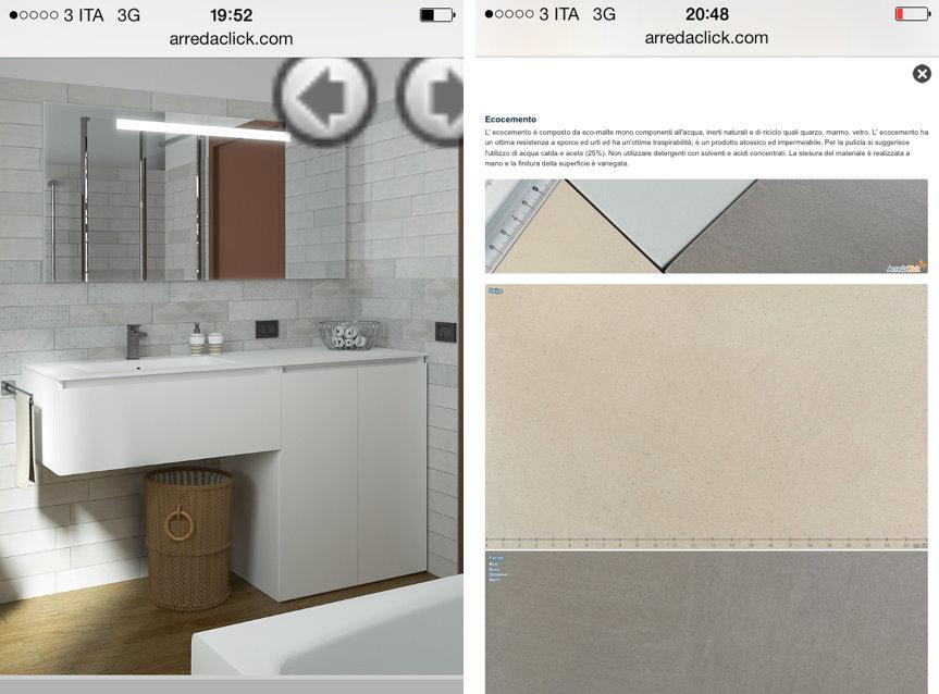 Arredaclick blog un mobile bagno con porta lavatrice in meno di 2 metri arredaclick - Mobile bagno con lavatrice ...