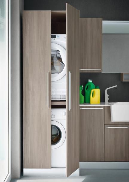 Idee la lavatrice in bagno 3 soluzioni definitive 1 - Asciugatrice in bagno ...