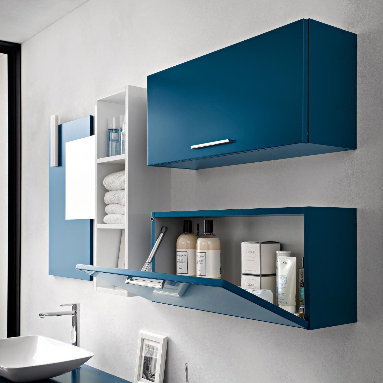 Idee decluttering vs ordine come organizzare la casa - Pensile specchio bagno ...