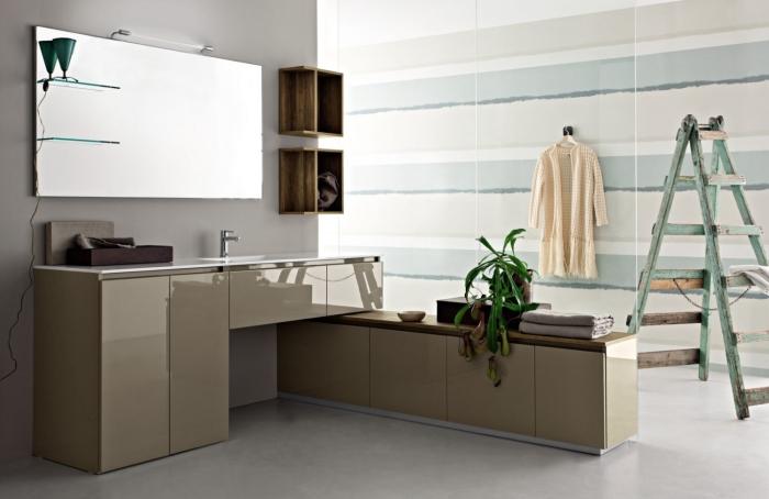 Arredaclick blog la lavatrice in bagno 3 soluzioni - Mobile bagno con portalavatrice ...