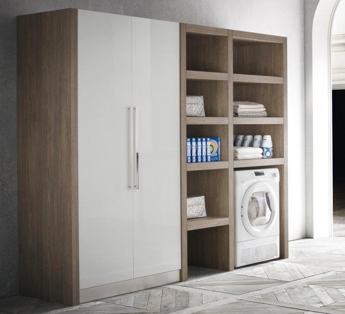 Ripiani in legno per ripostiglio design casa creativa e - Mobili per lavanderia ikea ...