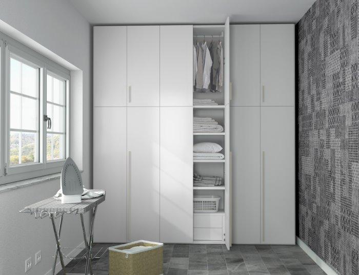 Soluzioni mobili per lavanderia design casa creativa e - Mobili per ripostiglio ...