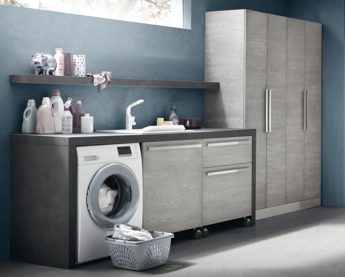 Idee armadio per lavanderia 5 soluzioni arredaclick - Dimensione mobili ...