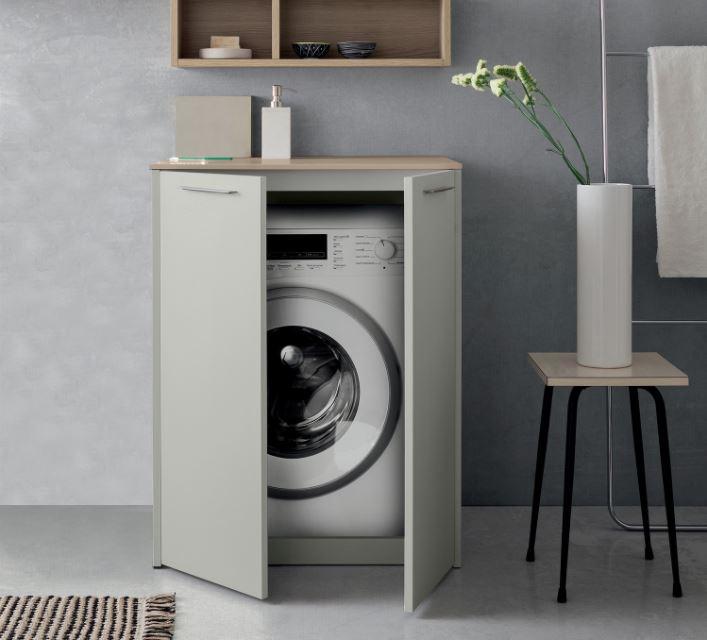 Mobili Per Lavatrici Ad Incasso.Idee La Lavatrice In Bagno 3 Soluzioni Definitive 1