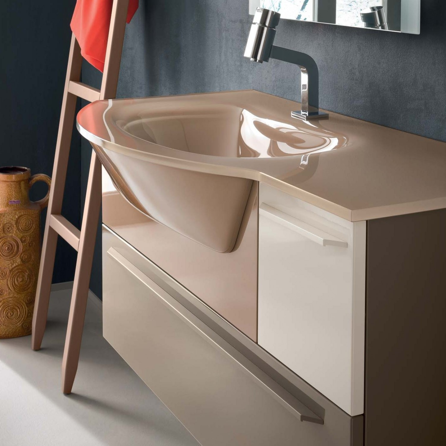 Arredaclick blog lavabo del bagno quale materiale for Lavabo con mobile bagno
