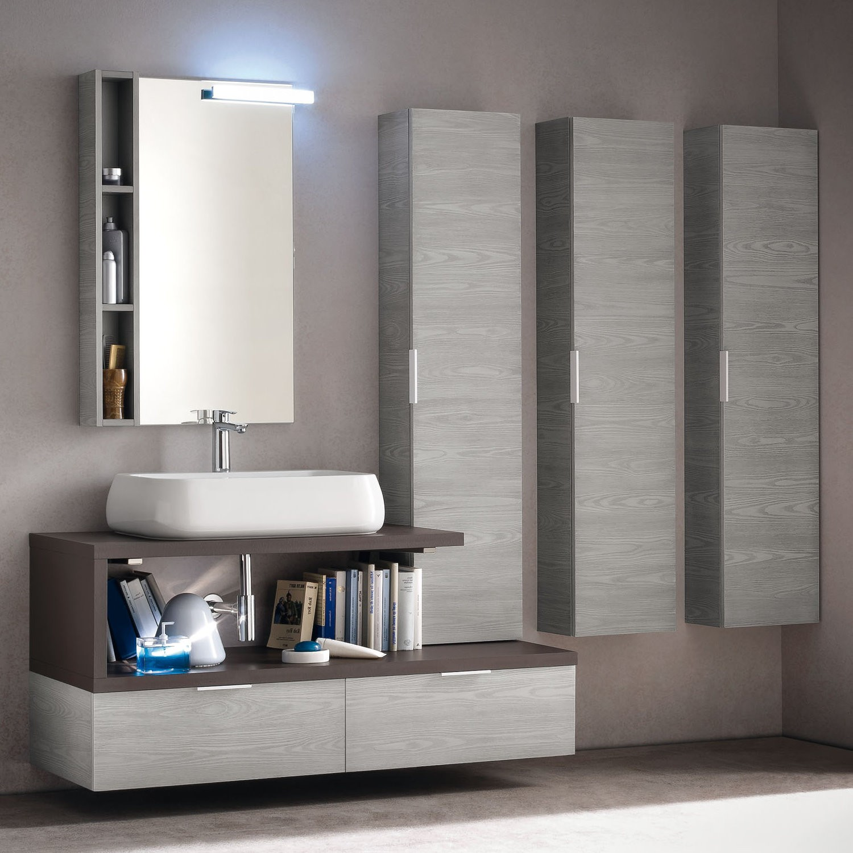 Carrello cucina legno bianco decape for Accessori arredo bagno