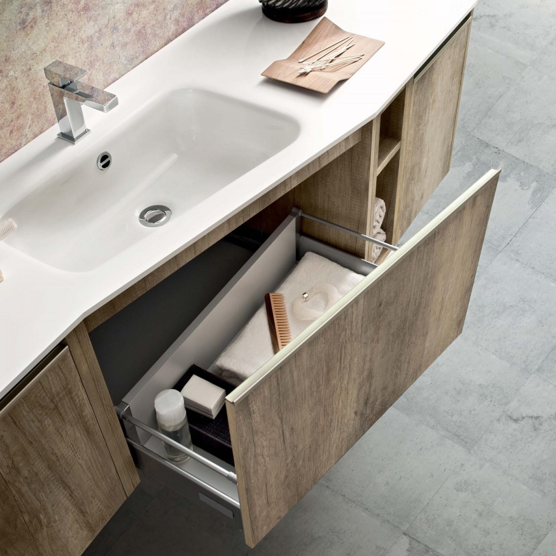 Idee come scegliere il lavabo per il mobile bagno - Mobili da bagno con lavabo ...
