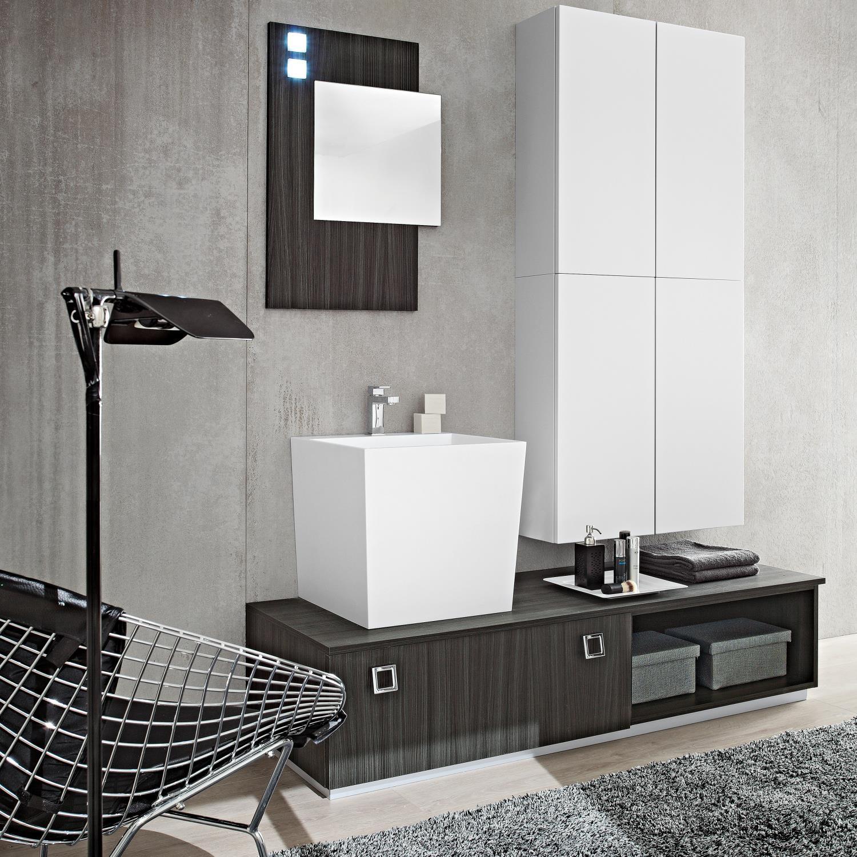 Mobili per lavandino bagno mobile sottolavabo con lavabo - Lavandino con mobile bagno ...