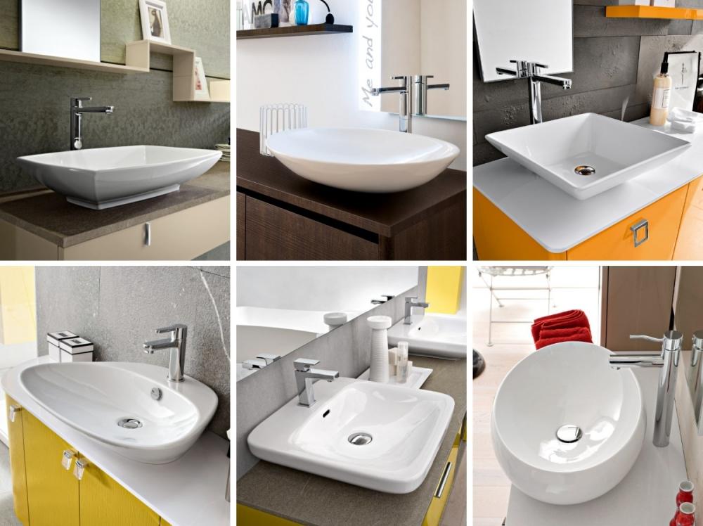 Arredaclick blog   lavabo del bagno: quale materiale scegliere ...