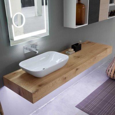 Idee lavabo del bagno quale materiale scegliere arredaclick - Asse da bagno ...