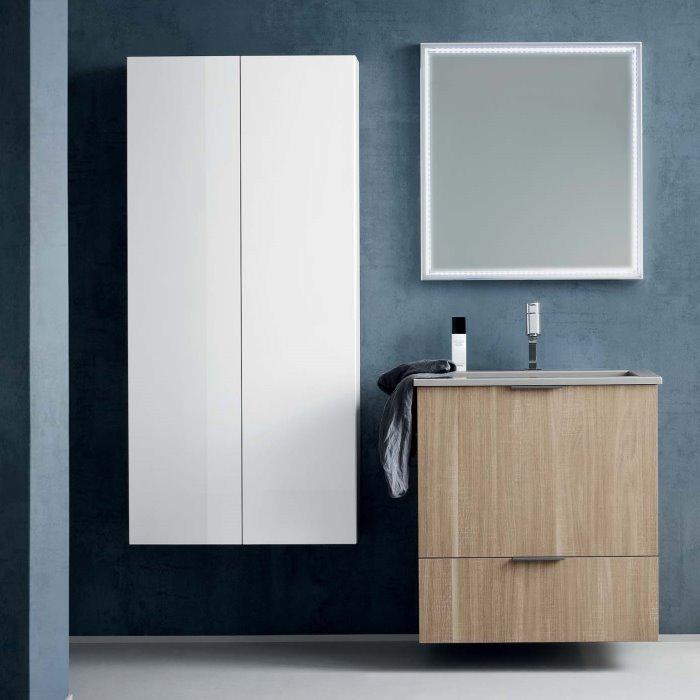 Idee mobile bagno con colonna minimo ingombro massima - Mobile asciugamani bagno ...