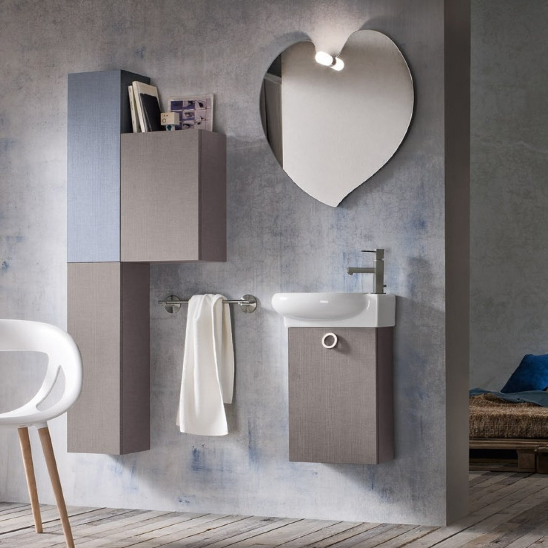 Arredaclick blog bagno piccolo 6 idee per scegliere il mobile bagno arredaclick - Mobiletto salvaspazio bagno ...